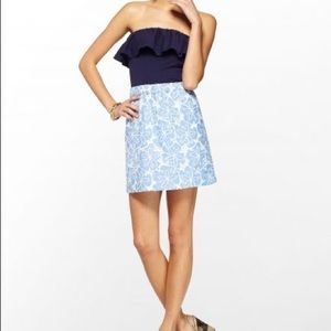 Lilly Pulitzer Athens Tide Blue Dress